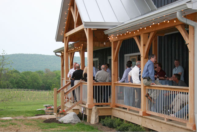 Notaviva Vineyards Corporate Retreats and meeting space in Loudoun County, Northern Virginia wine country